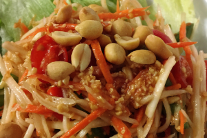 16. Papaya Salad - delivery menu