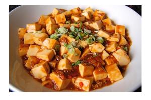 Spicy Ma Po Tofu with Ground Pork - delivery menu