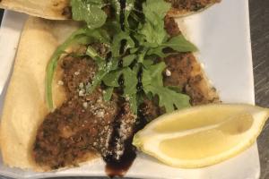 Lahmacun ( Meat pie) - delivery menu