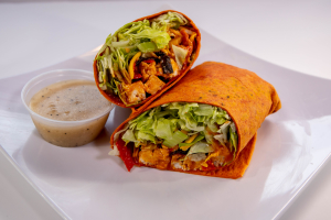 Buffalo Chicken Caesar Wrap - delivery menu