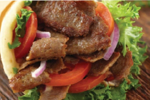 Lamb Gyro Sandwich - delivery menu