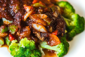 48. Crispy Duck with Chili Sauce - delivery menu