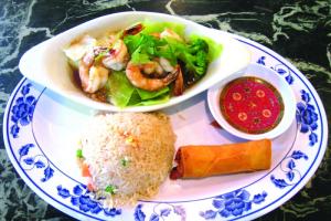 D4. Garlic Shrimp Dinner - delivery menu