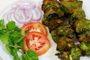 Haryali Tikka Kabab - delivery menu