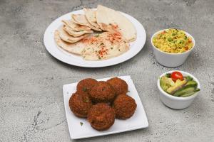 Falafel Entree - delivery menu
