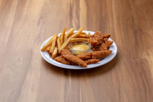 5 Chicken Tenders with Fries - delivery menu