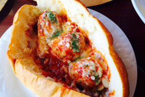 Meatball Hero - delivery menu
