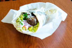 Falafel Pita Wrap - delivery menu