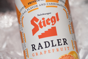 Stiegl Radler Grapefruit (Austrian, 2.5% Alc) 16.9 oz Can or 4-Pack Cans - delivery menu