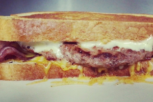 2. Brunch All American Grilled Cheese - delivery menu