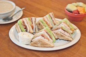 Turkey Club Sandwich Lunch - delivery menu