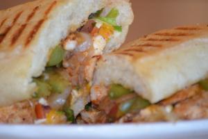 2. Chicken Fajita Panini - delivery menu