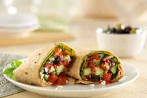 Greek Wrap - delivery menu