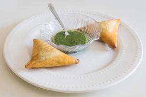 1. Vegan Sambusa - delivery menu