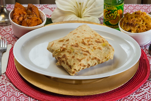 Curry Shrimp Roti - delivery menu