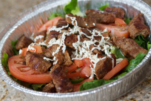 Create Your Own Salad with Meat - delivery menu