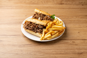 Cheese Steak Platter  - delivery menu