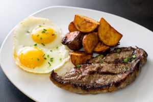 Steak and Eggs  - delivery menu
