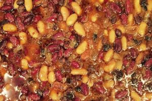 Smoked Baked Beans - delivery menu