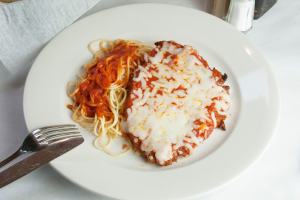 Pollo alla Parmigiana - delivery menu