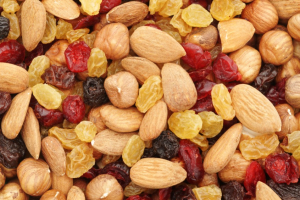 Nuts and dry fruit - delivery menu