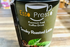 ESSO PRESSO,  smoky roasted Latte - delivery menu