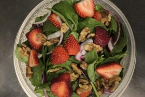 Spinach salad - delivery menu