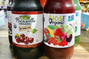 iOS love/ pocasville organic juices  - delivery menu