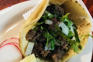 Taco con Lengua Al Vapor - delivery menu