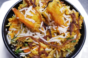 Shrimp Biryani - delivery menu