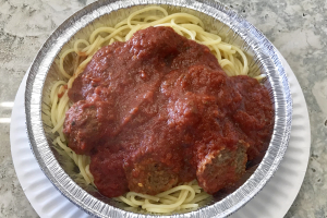 Spaghetti and Meatball - delivery menu