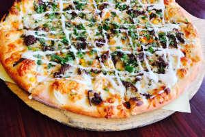 Bulgogi (Korean BBQ) Pizza - delivery menu