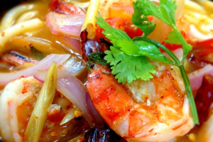 Udon Tom Yum Goong Soup - delivery menu