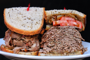 14. Slow Cooked Hot Brisket of Beef Sandwich - delivery menu