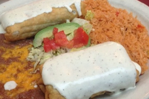 Seafood Chimichanga - delivery menu