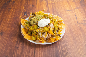 Mexican Nachos with Meat Combo - delivery menu