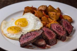 Brunch Hanger Steak and Eggs - delivery menu