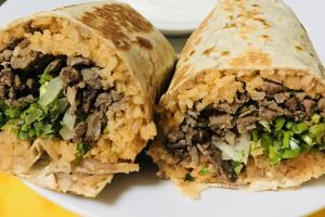 Burrito de Carne Asada - delivery menu
