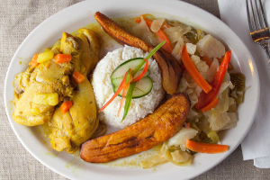 Curry Chicken Dinner - delivery menu