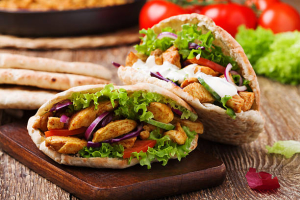 Chicken Kabob Sandwich - delivery menu