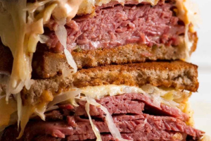St. Patty's Day Corned Beef Reuben - delivery menu