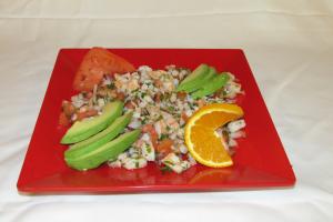 Ceviche de Camaron - delivery menu