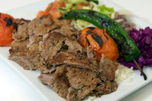 Lamb Gyro Plate - delivery menu