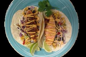 Blackened Salmon Taco - delivery menu