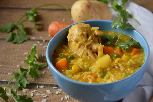 Soupy Rice with Chicken - delivery menu