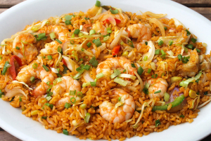 Rice with Shrimp - delivery menu