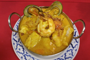 Yellow Curry - delivery menu