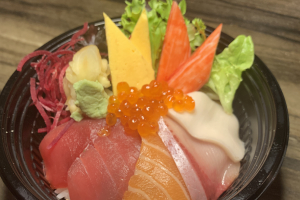 Chirashi Donburi - delivery menu