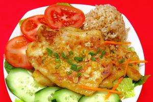 Health Fish - delivery menu
