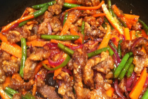 Hot and Spicy Beef - delivery menu